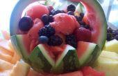 Panier de melon d'eau