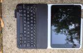 BRICOLAGE : Ajout d'adhérence supplémentaire à un clavier Logitech, pour un iPad Mini.