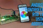 Android sous contrôle RGB LED en utilisant Arduino