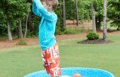 Activité de plein air enfants : L'eau plaisir sensoriel