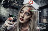 Infirmière mort - SFX maquillage Tutorial