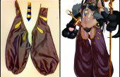 Vinyle ou Spandex sur mousse pour Cosplay/Costumes (armures, uniformes des pensionnaires, tuyauterie)