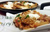Lasagne de 20 minutes / poêle lasagne