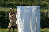 IKEA Hack : Photomaton de toile armoire de mariage