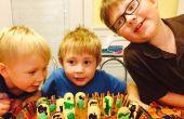 Cimetière d'enfants Halloween Cake