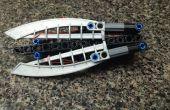 Mini arbalète pliable de Lego
