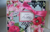 Comment faire une carte Floral de Rose Designer Collection