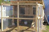 Poulet - poule chauffée Coop - Hen House Building PCO