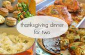 Dîner de Thanksgiving pour deux