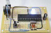 Perfboard Hackduino (circuit compatible Arduino de 8 $)