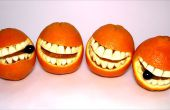 Comment faire un Smiley Face Orange