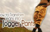 DIY Fashion | Comment faire pour transformer les Jeans Pantalons Jogger