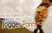 DIY Fashion | Comment faire pour transformer les Jeans Pantalons Jogger