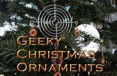 Ornements de Noël geek