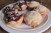 Deep Fried en anneau Cupcakes