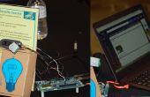 Mouvement de caméra de sécurité activé à l'aide d'Intel Edison
