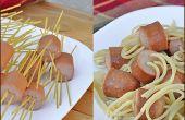 Spaghetti et boulettes de viande sans les boulettes de viande