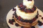 Gâteau de mariage bon marché et facile
