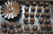 Gâteaux de banane beurre d'amande mini avec pépites de chocolat