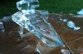 Star Destroyer glace Luge