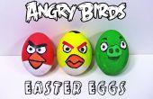 Oeufs de Pâques des oiseaux en colère