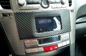 Installer le téléphone dans tableau de bord voiture Subaru Legacy