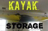 Stockage en kayak