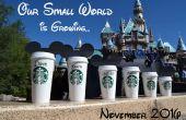 Disney / Starbucks annonce de grossesse