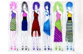 Haut-cycle chic robe à épaulettes un (modèle pour toutes les tailles inclus) t-shirt (s)