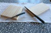 Planche à découper avec porte-couteau