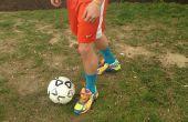 Comment lancer un ballon de foot