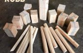 Kubb DIY set