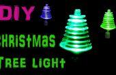 Faire la rotation arbre lumières de Noël à l'aide de LEDs et jouet moteur