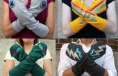 Comment faire un vieux T-shirt Superhero Arm Warmers