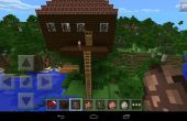 Treehouse Minecraft pour une famille de vivre en