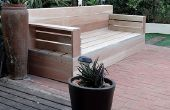Faites vos propres meubles de patio de bois