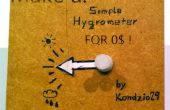 Faire un hygromètre simple pour 0$ ! (idéal pour vos enfants!)