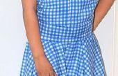 Magicien d'Oz (ma Version tenue). Robe de Dorothy Gale.