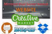 Serveur gratuit hébergé le site (Dropbox, GitHub, DNSPOD et Freenom)