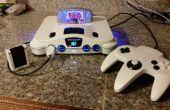 N64 LED mod et relooking