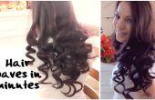 BRICOLAGE, comment rendre vos cheveux boucles en quelques minutes, simple et rapide