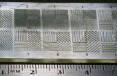 Imprimante de braise : Mesure de résolution horizontale