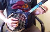 Transformez une raquette de Tennis en 3 cordes guitare