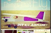 DIY télécommande avion (23 cc moteur à essence)