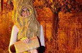Faire un costume de primé en une seule nuit avec ruban et journal d'emballage