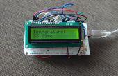 Température sensor(LM35) avec LCD(JHD162A)