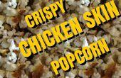 Poulet croustillant peau Popcorn