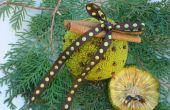 Osage Orange Pomander ou salle désodorisant