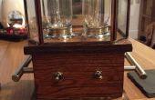 La lampe de « Steampunk » Twin Edison