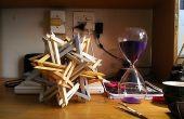 K2 - sculpture complexe origami modulaire - pas de colle